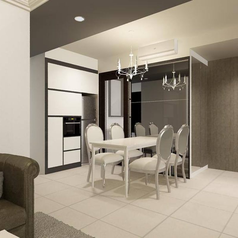 2. RiverParc Residence - Dining Room
